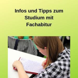Infos und Tipps zum Studium mit Fachabitur